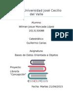 Proyecto Analisis y Diseño Libreria Concepcion