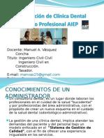 Administracion Clinica Dental Odontologia 2015