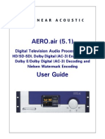 AERO Air 5.1 UM V1.16.02 Manual