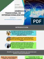 EL PROCESO GENÉRICO TRADICIONAL DE INTERNACIONALIZACIÓN