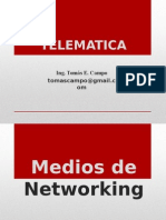 TELEMATICA - MEDIOS DE TRANSMISION.ppt