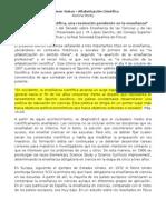 Fourez Resumen Textos - Alfabetizacion Cientifica