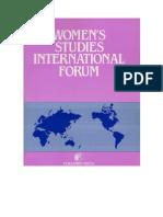 Women's Studies International Forum 46 (2014)