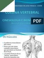 Cinesiologia - Coluna Vertebral - Márcia