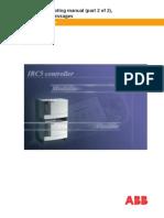 ABB IRC5 Cntroller Event Log Messages 3HAC020738-001 RevA en 2