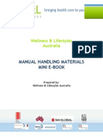 manual handling mini ebook