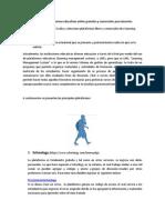 Actividad 1- Plataformas Educativas Online