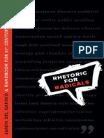 Jason Del Gandio-Rhetoric for Radicals_ a Handbook for 21st Century Activists-New Society Publishers (2008)
