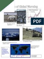 Global Warming Collage