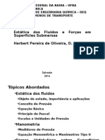 Estática Dos Fluidos e Forças Em Superfícies Submersas (1)