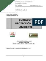 Guia Estudio Cuidado y Proteccion Del Ambiente