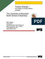 SHARP - Exec Briefing UMD BizSchool 2015