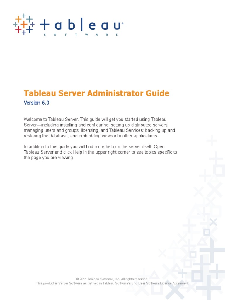 Tableau Server Admin60 Active Directory Transport Layer Security