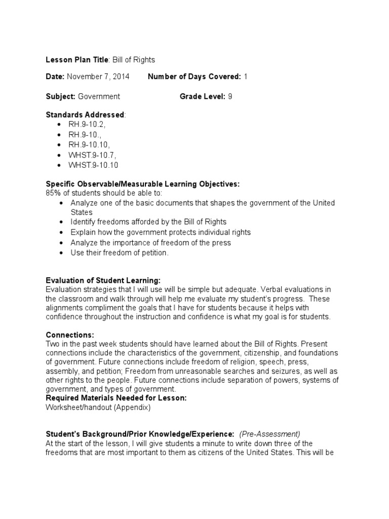 Chandace Lesure2 Social Studies Tws Lesson Plan Two (1) | Educational  Assessment | Lesson Plan