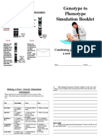 Make a Baby Simulation Booklet