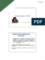 Comunicacion en TGD