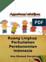 1 Ruang Lingkup Perekonommian Indonesia