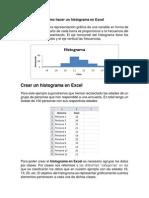 Histograma en Excel