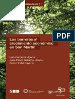 Barreras al Crecimiento Economico en San Martin - CIES 2012.pdf