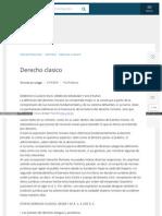 Www Buenastareas Com Ensayos Derecho Clasico 804167 HTML