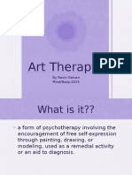 art therapy presentation
