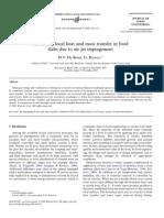 Modelling Local Heat and Mass Transfern