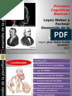 Clase 3 Experimentos de Weber y Fechner y El Desarrollo de La Psicofísica