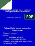 Penanganan sampel Plebotomi.ppt