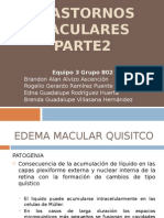 Trastornos Maculares Adquiridos Equipo Edema Macular Quistico 3 802 1