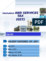 1. Salient Features of GST