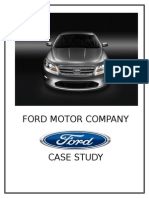 39882905 Strategic Analysis on Ford Motor