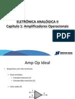 1 - Amplificadores Operacionais