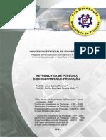 Apostila Metodologia Completa 2012