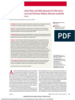 Glomerular Filtration Rate and Albuminuria for Detection and Staging of Acute and Chronic Kidney Disease in Adults