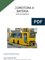 Locomotora a Bateria