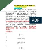 Primera Sesiã_n de Clase de Matemã-tica Para Ingenieros