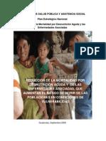 Plan de Seguridad Alimentaria y Nutricional -Su Envio a Segeplan