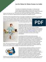 En France, On Devient De Moins En Moins Femme Au Lobby Par Choix