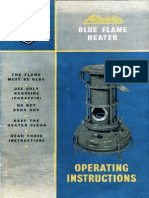 Alladin Blue Flame Owners Manual