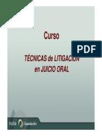 Diapositiva de Litigacion Oral