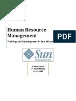 Sun Microsystems - Training Methods