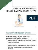 E. Pemeriksaan Mikroskopis TB