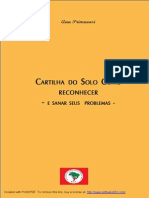 Cartilha Inspeção Do Solo - Ana Primavesi