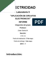 Informe de Electricidad