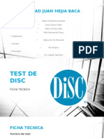 inventario Disc