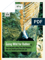 Going Wild for Rubber~ Sourcing wild rubber from the Amazon