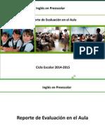 Reporte de Evaluacion  en el Aula Preescolar.pdf
