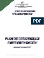 Plan de Desarrollo e Implementacion