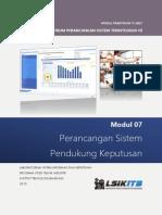 Modul 7 - Perancangan Sistem Pendukung Keputusan.pdf