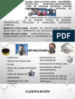 Norma Oficial Mexicana Nom-116-Stps-2009, Seguridad-equipo de Protección